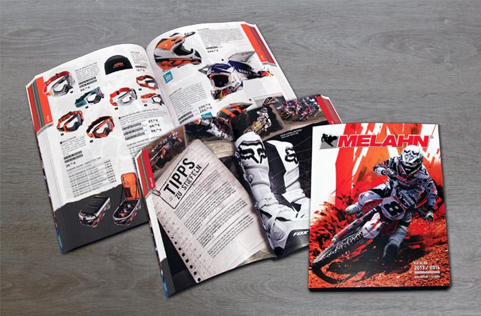 Einstiegsseiten Gestaltung Katalog