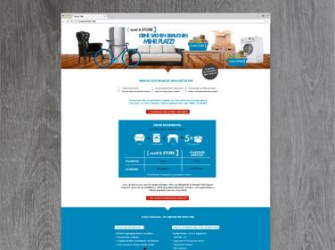 Landingpage Gestaltung