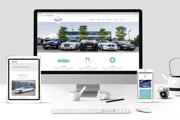 Webdesign Wordpress MyLimo Deluxe