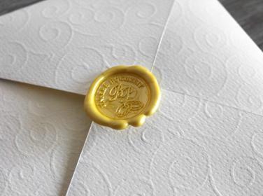 Hochzeit Einladung Gestaltung Siegel