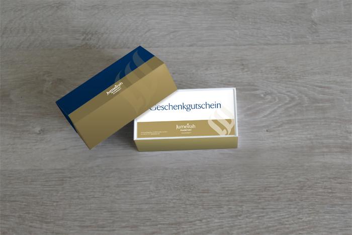 Geschenkbox Design